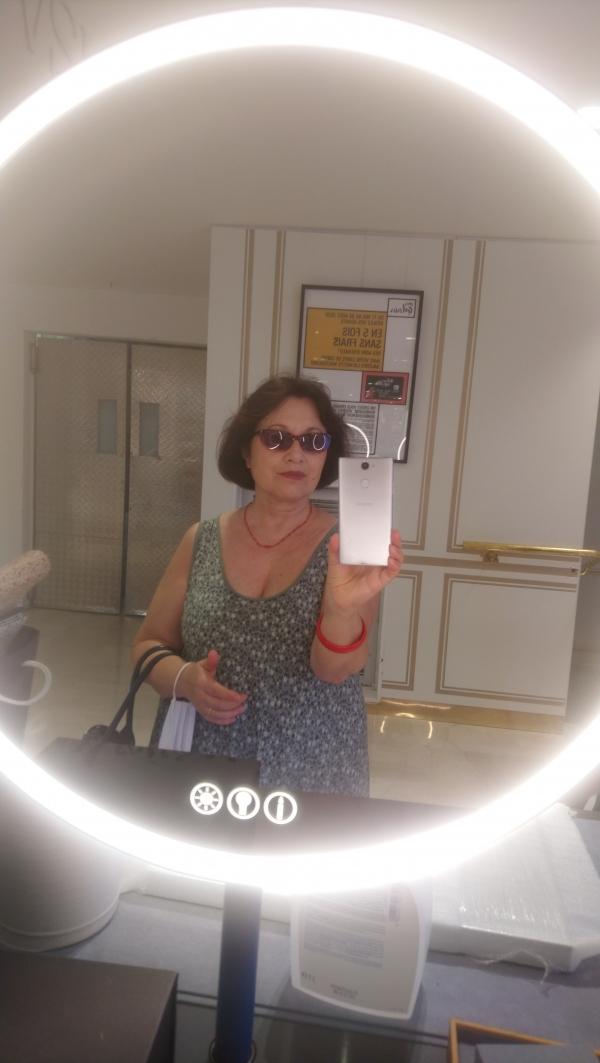 Selfie sans masque