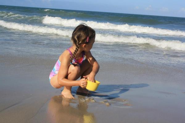 Sharing holidays -Bald Head Island, North Carolina, 2013