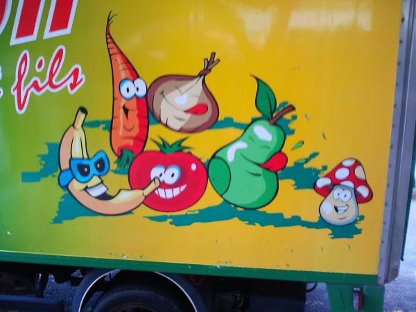 Légumes souriants