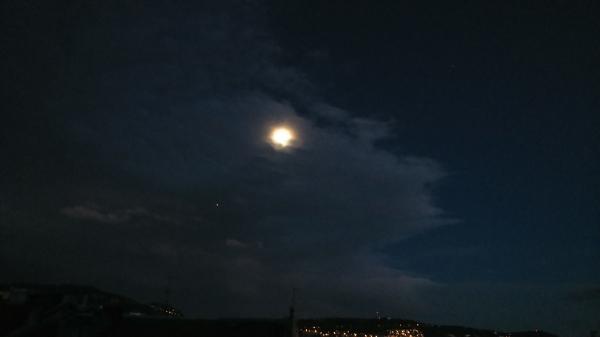 La pleine lune du février